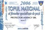 Diploma Topul National al Firmelor 2006